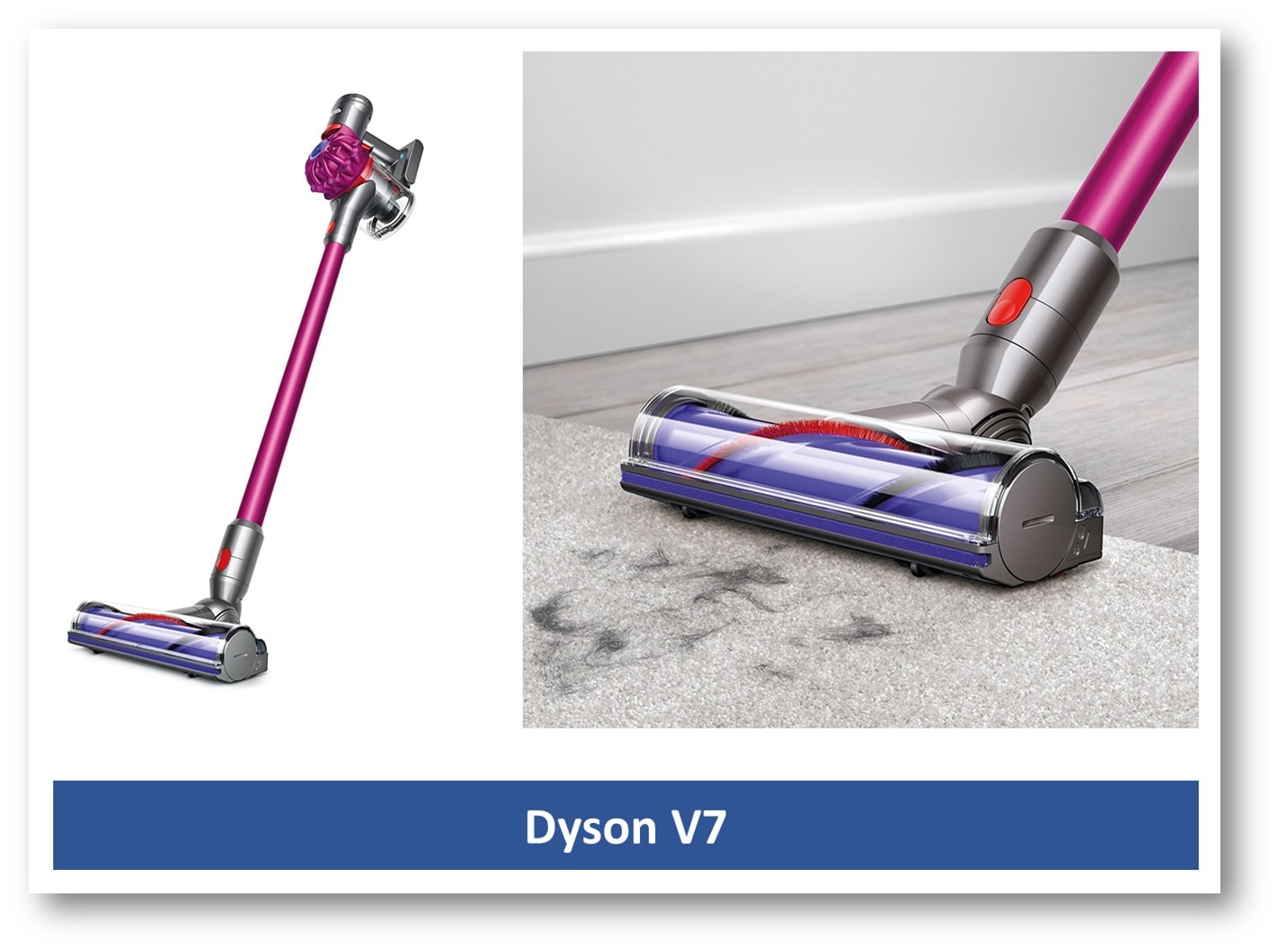 Dyson V7 Great Vacuum For Laminate Floor